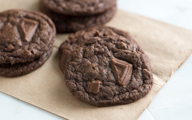The Somewhat Healthy Chewy Double Chocolate Chip Cookie Recipe