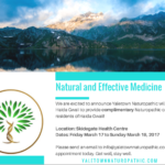 Naturopathic Care in Haida Gwaii March 17-19, 2017