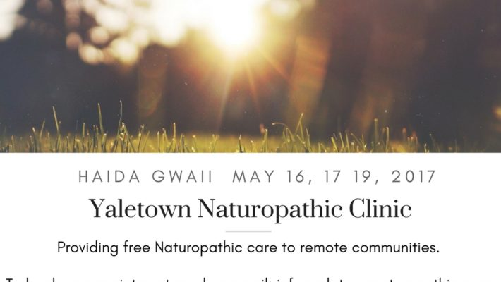 Haida Gwaii Clinic Visit May 16, 17, and 19, 2017